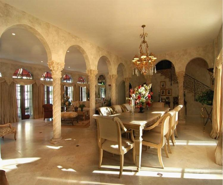Projects gallery dining room private residence in miami for Best private dining rooms miami